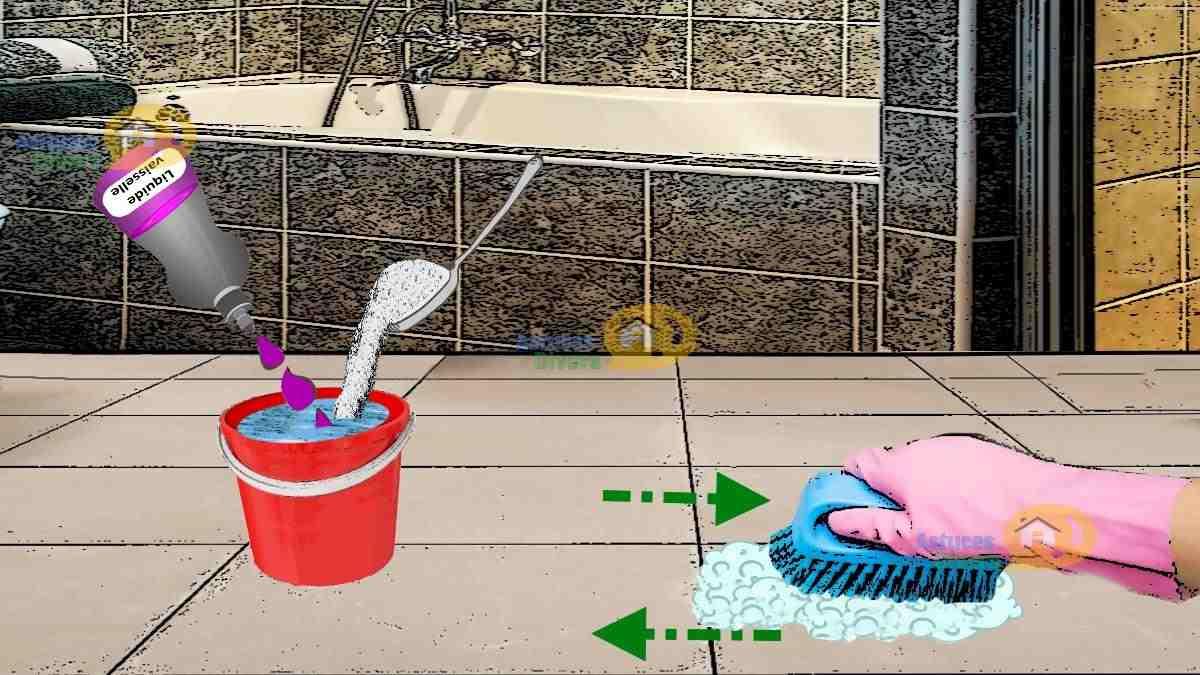 Astuce Pour Joint De Carrelage bois et carrelage : 2 astuces pour nettoyer avec l'ammoniaque