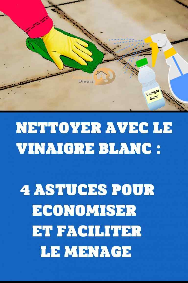 Vinaigre Blanc Dans La Machine A Laver nettoyer avec le vinaigre blanc: 4 astuces pour économiser