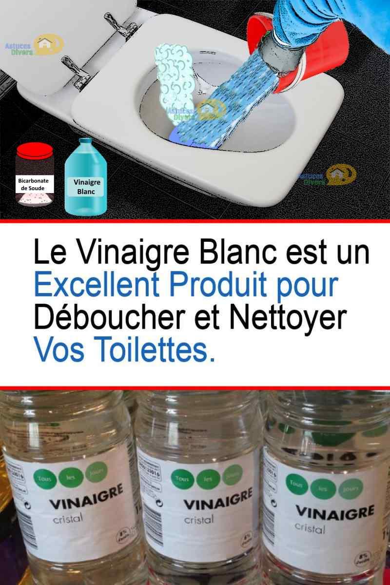 Nettoyer Lunette Toilettes Vinaigre Blanc vinaigre blanc: 4 astuces économiques de nettoyage