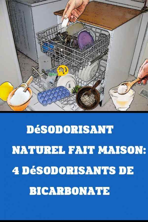 Desodorisant Naturel Fait Maison 4 Desodorisants De Bicarbonate
