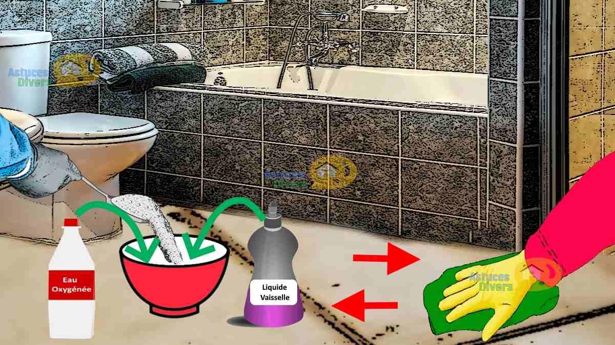 Nettoyer Carrelage Salle De Bain Bicarbonate nettoyant antiseptique multi-usage : 3 ingrédients, 3 étapes